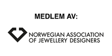 Medlem av Norwegian Association of Jewellery Designers